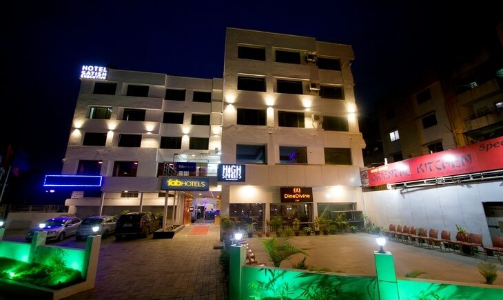 Facade image FabHotel Satish Executive Hinjewadi Pune