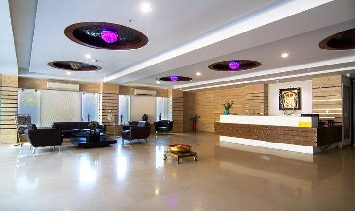 Reception image FabHotel Tanisha Jubilee Hills Hyderabad