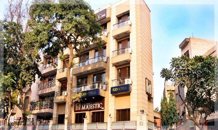 Facade image FabHotel Majestic East Of Kailash New Delhi