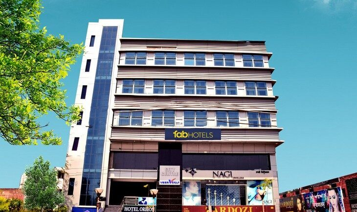 Facade image FabHotel Orbion Mall Road Amritsar