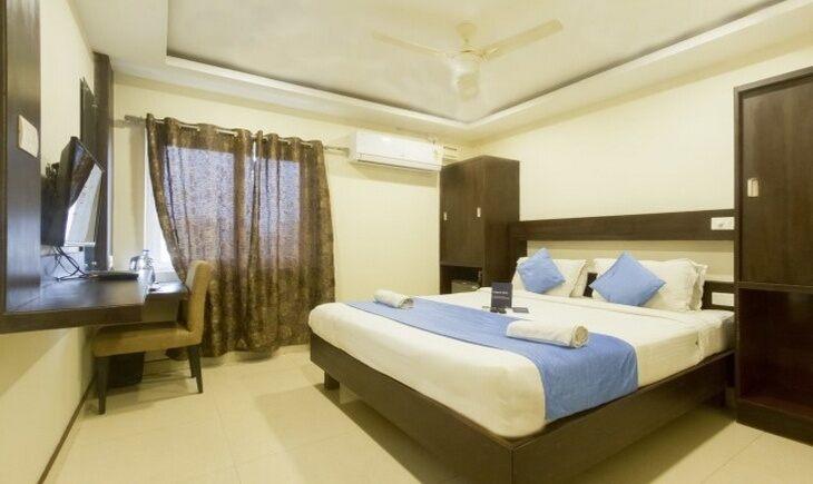 Deluxe Room image FabHotel AVS Kukatpally Hyderabad