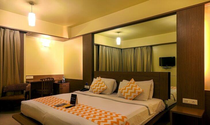 Bedroom image FabHotel Ivy Studios Viman Nagar Pune