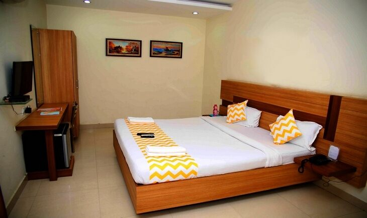 Bedroom image FabHotel KRS Nest Gachibowli Hyderabad