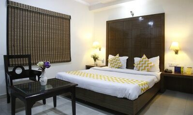 FabHotels in New Delhi Railway Station (image FabHotel Mohan International Paharganj)