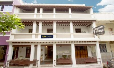 FabHotels in Pondicherry (1 image FabHotel Esparan Heritage)