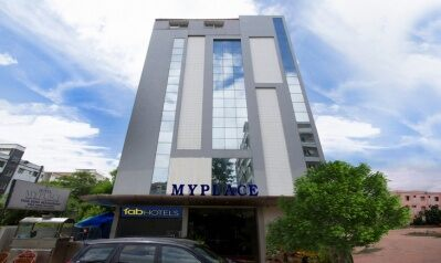 FabHotels in Hyderabad (1 image FabHotel MyPlace Kondapur HICC)