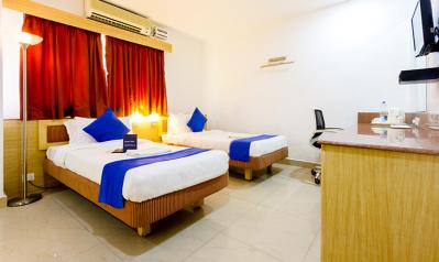 FabHotels in Hyderabad (1 image FabHotel AVS Gachibowli Extn)