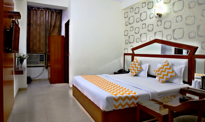 FabHotels in New Delhi Railway Station (image FabHotel Pallvi New Delhi Station)