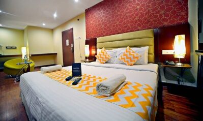 FabHotels in Hyderabad (2 image FabHotel M Hotel Hitech City)