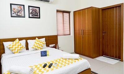 FabHotels in Hyderabad (2 image FabHotel Hill View Gachibowli)