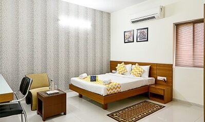 FabHotels in Hyderabad (image FabHotel Hill View Gachibowli)