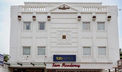 FabHotels in Coimbatore (1 image FabHotel Sam Residency Gandhipuram)