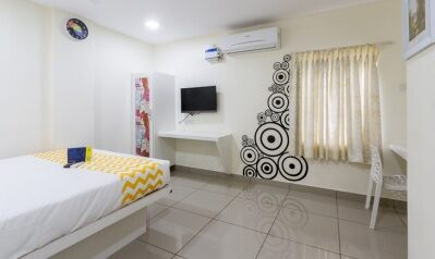 FabHotels in Chennai (2 image FabHotel Colors Apart Santhome)