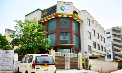 FabHotels in Gurgaon (1 image FabHotel Q-Cent Sector-15)