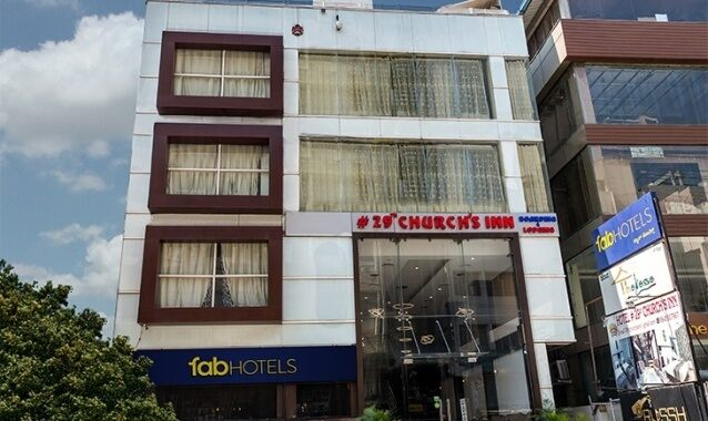 Facade Picture Of Fabhotel 29th Church Inn M G Road Bangalore Hotels